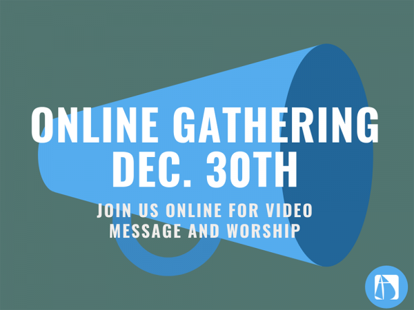ONLINE GATHERING DEC 30TH Image